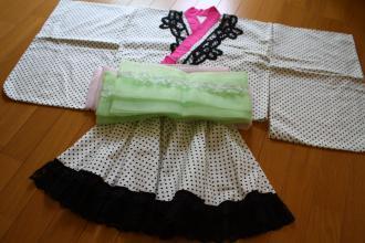 浴衣ドレスバージョン