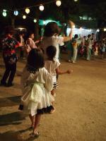 近くの盆踊り
