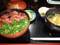 へのもへ マグロ丼セット 1120