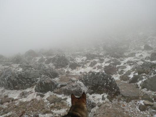 雪の茶臼岳