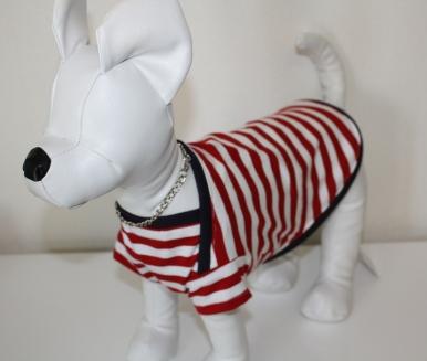ストライプ犬服