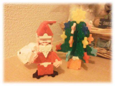 LaQサンタ&クリスマスツリー