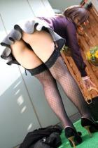 ミニスカ美脚からエロ下着が誘惑パンチラOLエロ画像