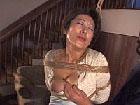 【巨乳動画】緊縛巨乳熟女を乳責め緊縛され吊るされた巨乳熟女のオッパイを責めたてる