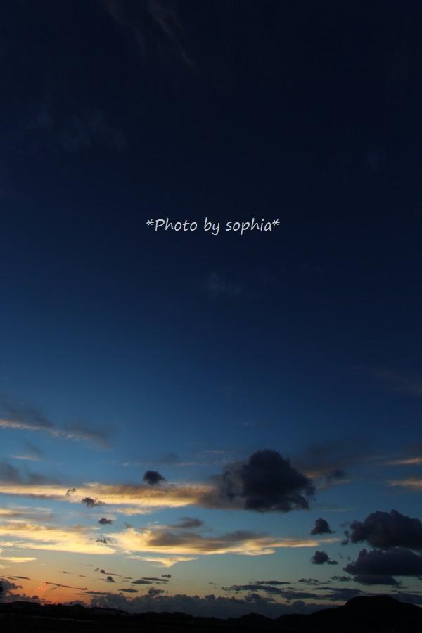 2014年9月19日の夕景