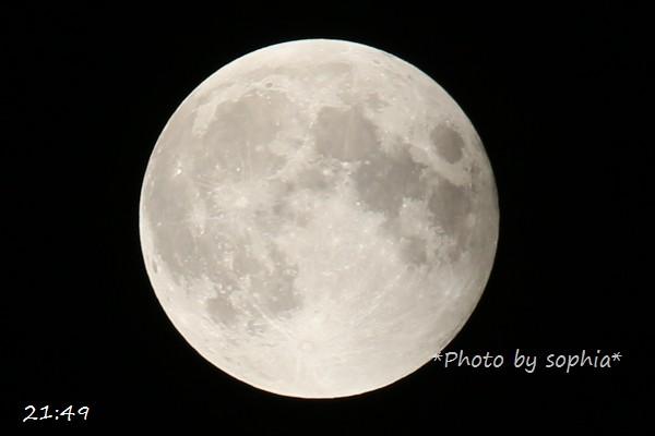 2014年10月8日満月