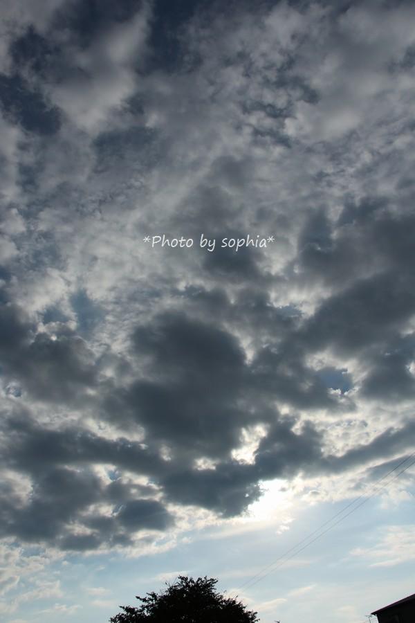 2014年10月9日の空