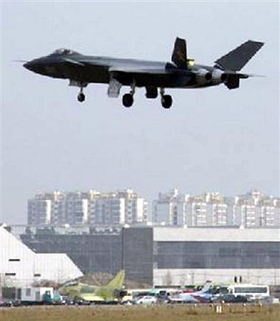 ::中国初のステルス戦闘機 殲ー20(J-20)