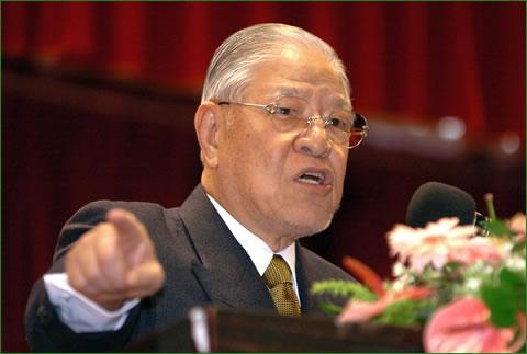 :::台湾の李登輝元総統、中国の学生... 64bbf84f