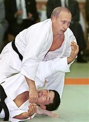 ::::プーチン・ロシア大統領(柔道)