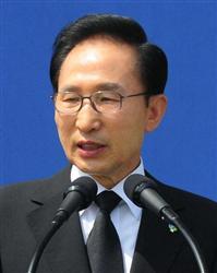 ::::韓国の李明博大統領が竹島へ出発