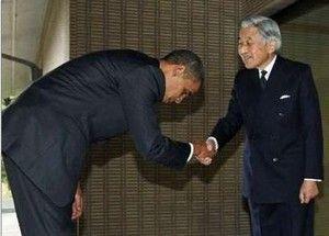 ::::天皇陛下とオバマ大統領 518d9791