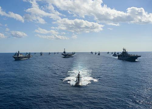 ◆沖縄離島で奪還訓練②