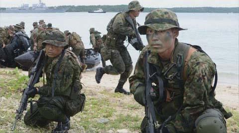 ◆沖縄離島で奪還訓練①