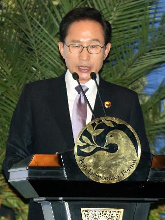 ◆インドネシアで韓国大統領