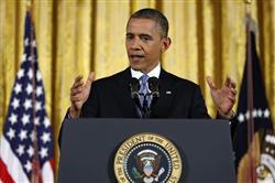 ◆米ホワイトハウスでの記者会見