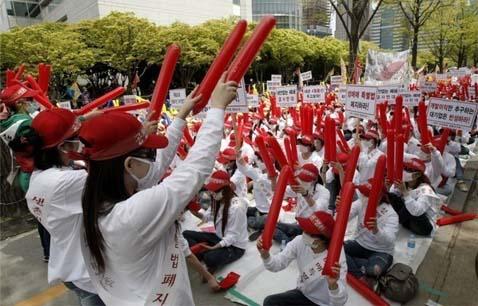◆韓国全土から集まった売春婦2000人が抗議集会1383853のコピー