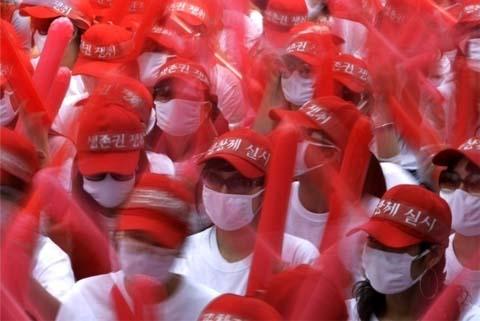 ◆韓国全土から集まった売春婦2000人が抗議集会1383847のコピー