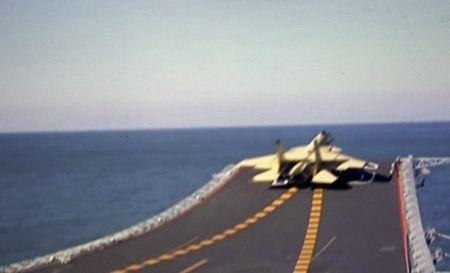 ◆艦載機の離着艦の成功①