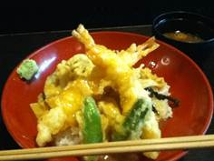 旬菜料理 旨魯 どっぷり昭和町特別料理 湯葉とろ天丼