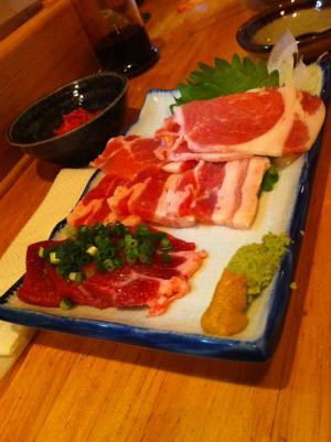 長崎芳寿豚のお造り