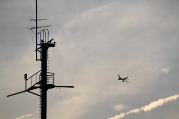 関空からの飛行機