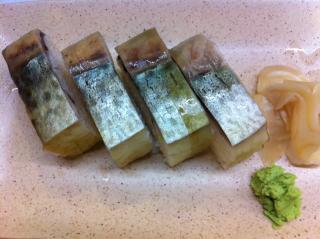 バッテラ(鯖の押し寿司)