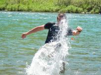水遊びテツ