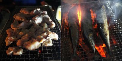 翌日が肉の予定だったので、この日はあえて鶏肉軟骨とサンマにしました