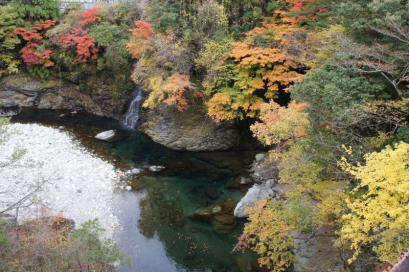 みたらい渓谷 紅葉4