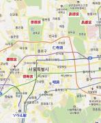 韓国宮殿マップ