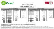 カルモナバス時刻表