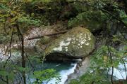 030 西沢渓谷 フグ岩