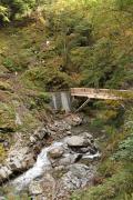 047 西沢渓谷 方杖橋