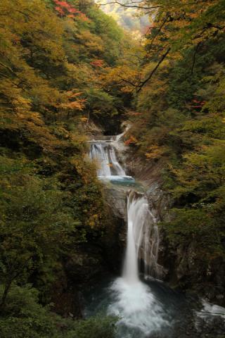 050 西沢渓谷 七ツ釜五段の滝
