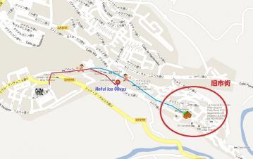 アルコス街地図