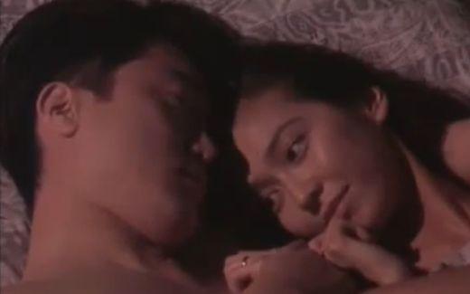 【賀来千香子】ベッドの上で愛を確かめ合う濡れ場