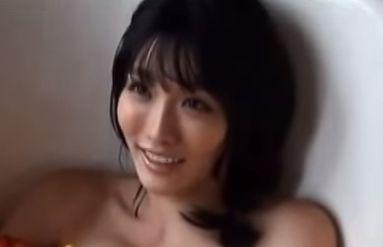 【今野杏南】しっとりとした入浴シーン