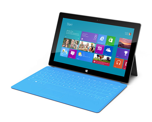 Win8 surface