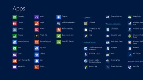 windows8アプリ