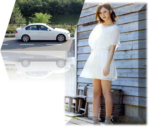 BMW  white nontyan kai