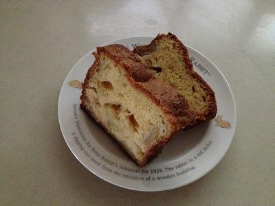りんごのバウンドケーキ