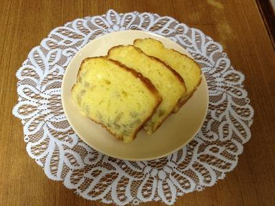 梨のバウンドケーキ