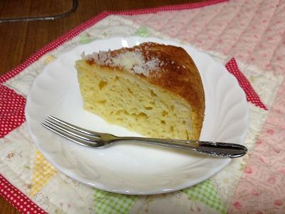 炊飯器deケーキ