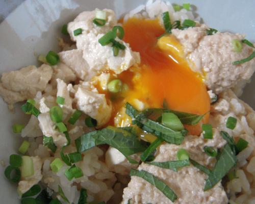 漬け豆腐丼2