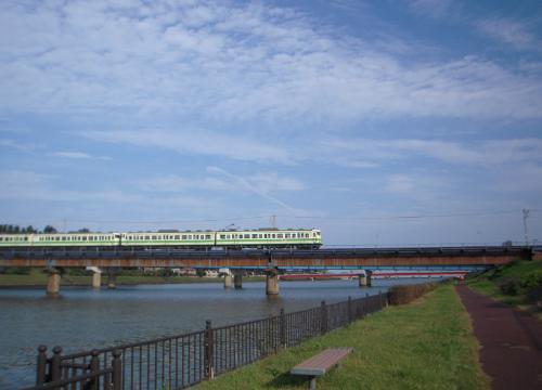 新潟島一周5越後線鉄道橋E