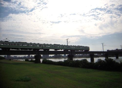新潟島一周11越後線鉄道橋I