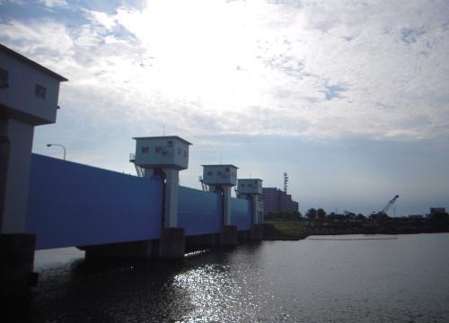 新潟島一周8信濃川水門G