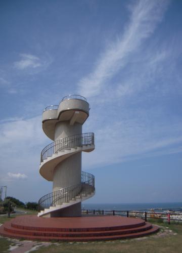 新潟島一周19日和山展望台