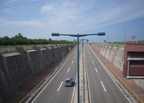 新潟島一周18みなとトンネル入口上N
